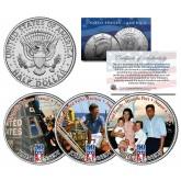 JOHN F KENNEDY - First Family - 2014 50th Anniversary JFK Half Dollar U.S. 3-Coin Set