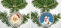2014 CHRISTMAS 2-COIN SET
