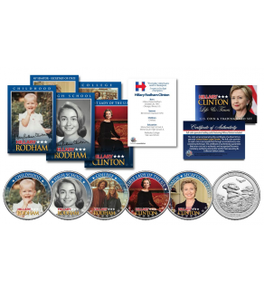 Hillary Clinton 2016 Presidential Campaign 10 Piece Life Amp Times Ultimate U S Coin