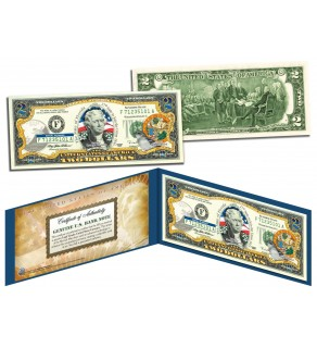 FLORIDA $2 Statehood FL State Two-Dollar U.S. Bill - Genuine Legal Tender