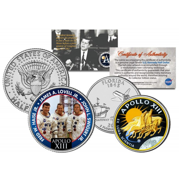 Apollo 13 Coin - Pics about space