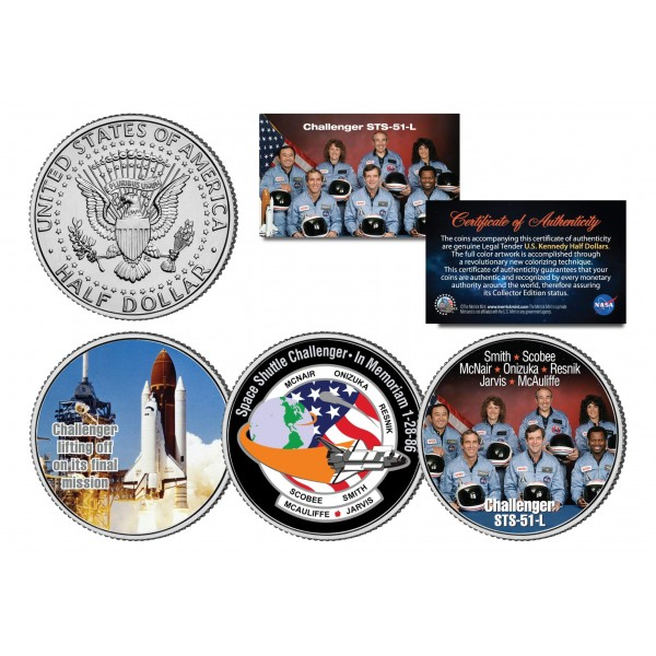 space shuttle challenger coins - photo #31