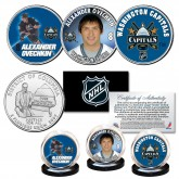 WASHINGTON CAPITALS 2018 Stanley Cup OVECHKIN NHL Hockey DC Quarters US 3-Coin Set - Officially Licensed