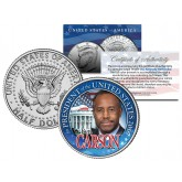 BEN CARSON FOR PRESIDENT 2016 Campaign Colorized JFK Kennedy Half Dollar U.S. Coin