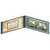 "CALIFORNIA State $1 Bill - Genuine Legal Tender - U.S. One-Dollar Currency "" Green """
