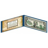 "NEBRASKA State $1 Bill - Genuine Legal Tender - U.S. One-Dollar Currency "" Green """