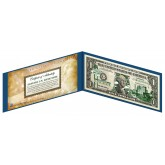 "NEVADA State $1 Bill - Genuine Legal Tender - U.S. One-Dollar Currency "" Green """
