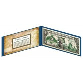 "OHIO State $1 Bill - Genuine Legal Tender - U.S. One-Dollar Currency "" Green """