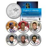 Baseball ALL-STARS 2004 Texas State Quarters US 6-Coin Set - Piazza Griffey Jeter Pujols Ichiro Ramirez