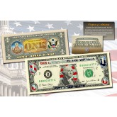 SILVER DIAMOND CRACKLE HOLOGRAM Legal Tender US $2 Bill Currency Limited Edition