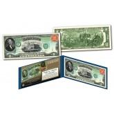 1869 Thomas Jefferson Rainbow $2 Banknote designed on Modern $2 Bill