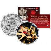 "MUHAMMAD ALI "" Artistic Knockout "" JFK Kennedy Half Dollar U.S. Coin"