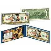 "MUHAMMAD ALI ""Petruccio Art"" Legal Tender U.S. $2 Bill - Officially Licensed"