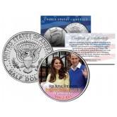 PRINCESS CHARLOTTE of Cambridge - Colorized 2015 JFK Half Dollar U.S. Coin - Prince William & Kate