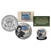JACKIE ROBINSON Military Baseball Legends Official JFK Kennedy Half Dollar U.S. Coin