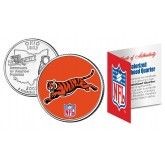 CINCINNATI BENGALS NFL Ohio US Statehood Quarter Colorized Coin  - Officially Licensed