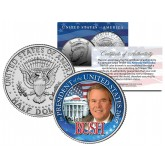 JEB BUSH FOR PRESIDENT US Campaign 2016 Colorized JFK Kennedy Half Dollar Coin WHITE HOUSE