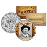 CALAMITY JANE - Wild West Series - JFK Kennedy Half Dollar U.S. Colorized Coin