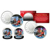 CANADA 150 ANNIVERSARY Rendition of 2017 Loonie Dollar on Royal Canadian Mint Medallions 2-Coin Set