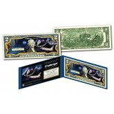 Space Shuttle CHALLENGER Missions Genuine Legal Tender U.S. $2 Bill NASA