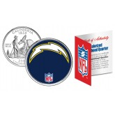 SAN DIEGO CHARGERS NFL California US Statehood Quarter Colorized Coin  - Officially Licensed