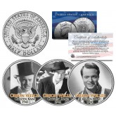 CITIZEN KANE 1941 Movie Colorized JFK Kennedy Half Dollar U.S. 3-Coin Set - ORSON WELLES