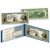 CIVIL RIGHTS ACT OF 1964 - 50th Anniversary - Legal Tender U.S. Colorized $2 Bill