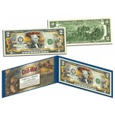American CIVIL WAR - Battle of Fort Sumter - Legal Tender U.S. Colorized $2 Bill