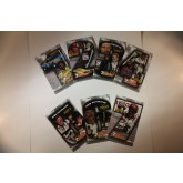 2001 DALE EARNHARDT 7 Card Set - Jumbo Size Proofs - 7-Time Winston Cup Champion