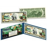 DANICA PATRICK Nascar - Go Daddy - Legal Tender U.S. $2 Bill - Officially Licensed