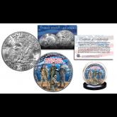 DEFENDERS OF FREEDOM U.S. Military Official Genuine Legal Tender IKE Eisenhower One Dollar U.S. Coin