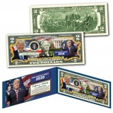 DONALD TRUMP - Keep America Great 2020 - Genuine Legal Tender U.S. $2 Bill