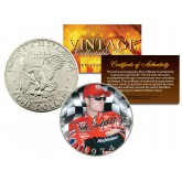 DALE EARNHARDT JR Colorized 1974 Eisenhower IKE Dollar U.S. Coin Birth Year - Officially Licensed
