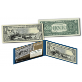 EDUCATIONAL SERIES 1896 Designed NEW $1 Bill - Genuine Legal Tender Modern U.S. One-Dollar Banknote