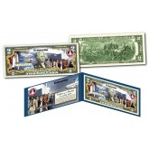 Space Shuttle ENTERPRISE Missions Genuine Legal Tender U.S. $2 Bill NASA featuring STAR TREK Cast