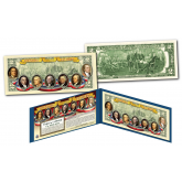 FOUNDING FATHERS of the United States OFFICIAL Genuine Legal Tender U.S. $2 Bill (Version 2)