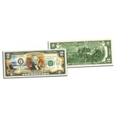 GRAND CANYON NATIONAL PARK Colorized $2 Bill - Genuine Legal Tender