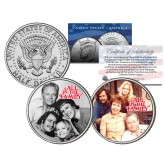 ALL IN THE FAMILY - TV SHOW - Colorized JFK Half Dollar U.S. 2-Coin Set