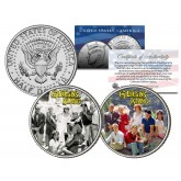 GILLIGAN'S ISLAND - TV SHOW - Colorized JFK Half Dollar U.S. 2-Coin Set