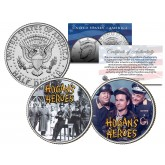 HOGAN'S HEROES - TV SHOW - Colorized JFK Half Dollar U.S. 2-Coin Set