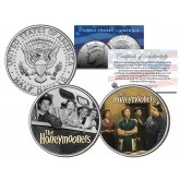 THE HONEYMOONERS - TV SHOW - Colorized JFK Half Dollar U.S. 2-Coin Set