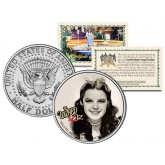 WIZARD OF OZ - Judy Garland - Colorized JFK Kennedy Half Dollar US Coin - Officially Licensed