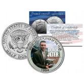 DEREK JETER 1994 Kennedy JFK Half Dollar U.S. Coin MINOR LEAGUE PLAYER OF THE YEAR