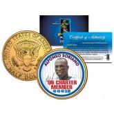 ALFONSO SORIANO Kennedy JFK Half Dollar 24K Gold Plated U.S. Coin 40-40-40 CLUB
