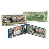 JOHN WAYNE  * 1939 Stagecoach Movie * Genuine Legal Tender U.S. $2 Bill
