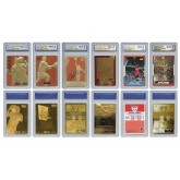 Michael Jordan Mega-Deal Official Licensed Cards - Graded Gem-Mint 10 (SET OF 6)
