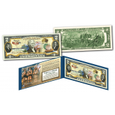 LOUISIANA PURCHASE / LEWIS & CLARK Historical Genuine Legal Tender U.S. $2 Bill