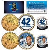 Mariano Rivera Hall of Fame 24K Gold Clad JFK Half Dollar 2-Coin U.S. Set