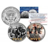 MASH - TV SHOW - Colorized JFK Half Dollar U.S. 2-Coin Set