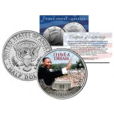 "MARTIN LUTHER KING JR. "" I Have a Dream "" JFK Kennedy Half Dollar US Coin"